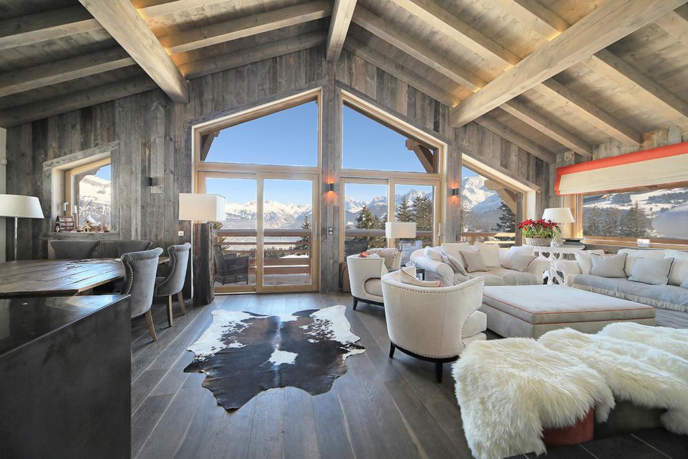 chalet purdey locations saisonni res de luxe combloux. Black Bedroom Furniture Sets. Home Design Ideas
